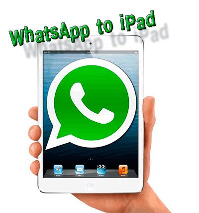 WhatsApp на ipad и ipod touch