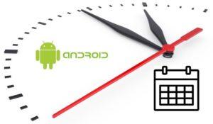 Настройка часов на андроид