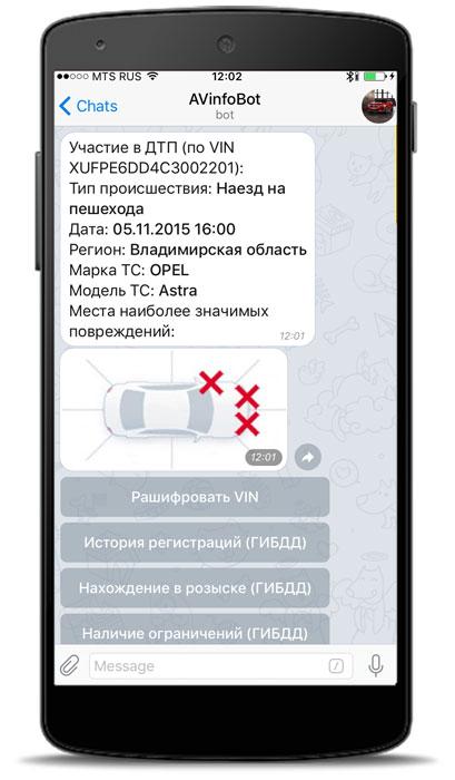 avinfobot WhatsApp что это