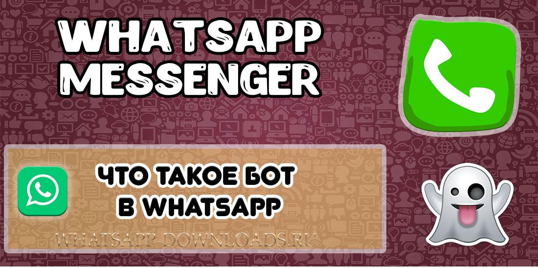 Что такое бот в WhatsApp?