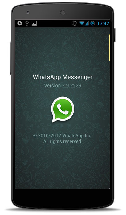 Набор для разработчика в WhatsApp.