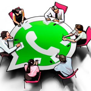 участники группы Whatsapp