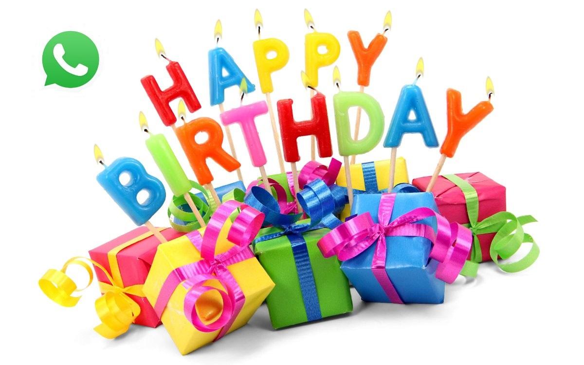 видео с днем рождения для ватсапа