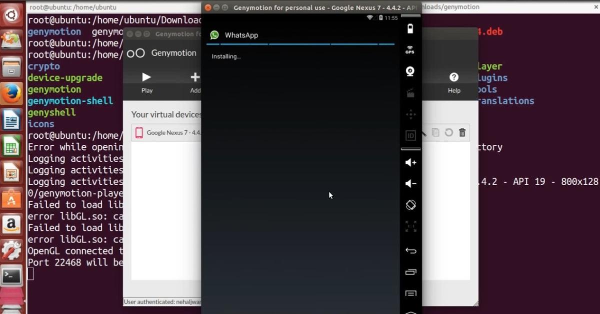 Как запустить версию WhatsApp для ОС Ubuntu?
